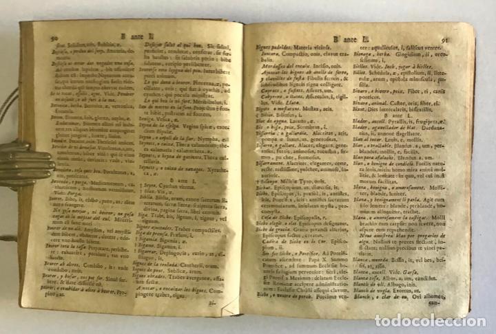 Diccionarios antiguos: DICTIONARIUM, SEU THESAURUS CATALANO-LATINUS, VERBORUM, AC PHRASIUM. - TORRA, Petro. - Foto 2 - 123252855