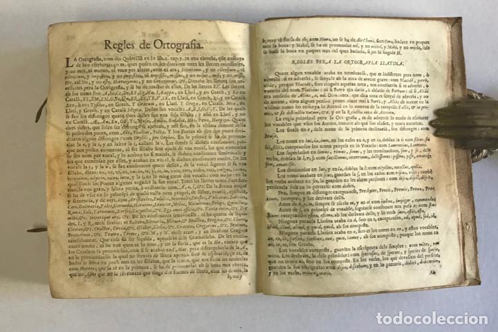 Diccionarios antiguos: DICTIONARIUM, SEU THESAURUS CATALANO-LATINUS, VERBORUM, AC PHRASIUM. - TORRA, Petro. - Foto 5 - 123252855