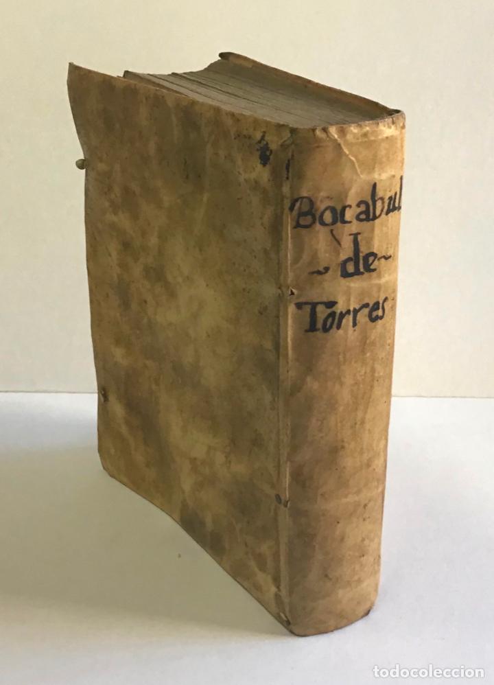 Diccionarios antiguos: DICTIONARIUM, SEU THESAURUS CATALANO-LATINUS, VERBORUM, AC PHRASIUM. - TORRA, Petro. - Foto 8 - 123252855