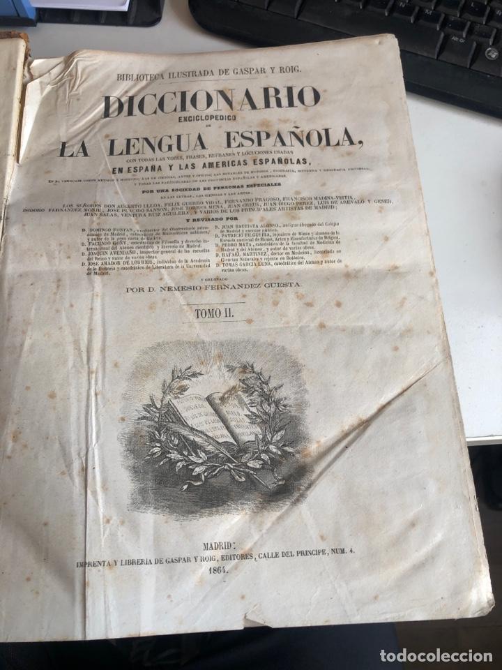 Diccionarios antiguos: Diccionario enciclopedico de la lengua española - Foto 4 - 192134571