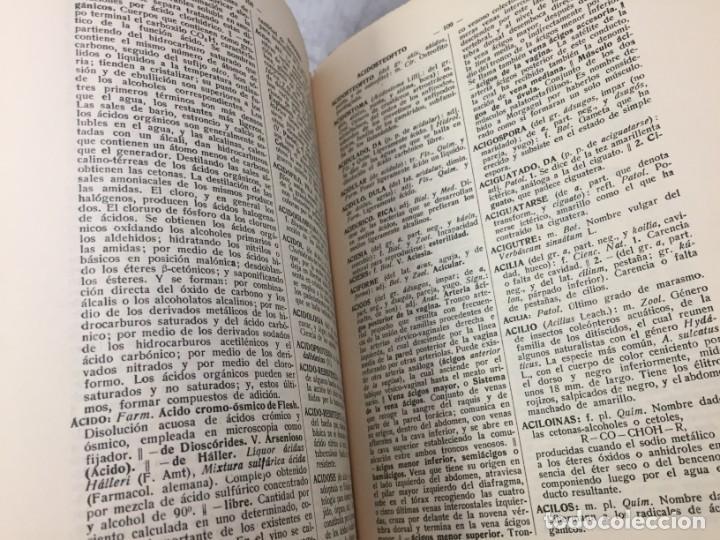 Diccionarios antiguos: Diccionario Tecnológico Hispano-Americano 1926 tomo I A-Acteonela Pelayo Vizuete arte y ciencia - Foto 6 - 192951300