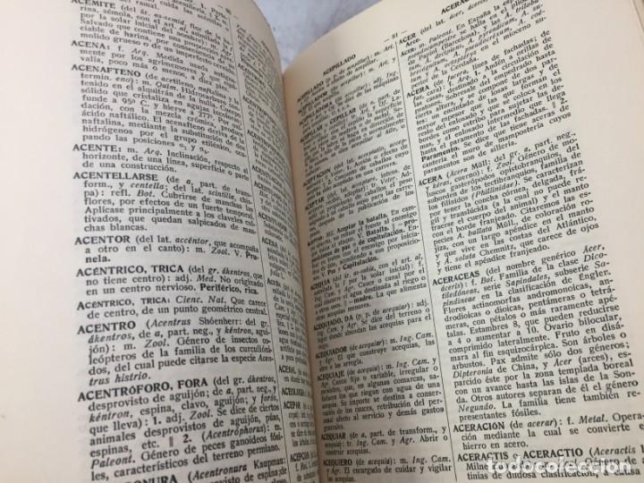 Diccionarios antiguos: Diccionario Tecnológico Hispano-Americano 1926 tomo I A-Acteonela Pelayo Vizuete arte y ciencia - Foto 7 - 192951300