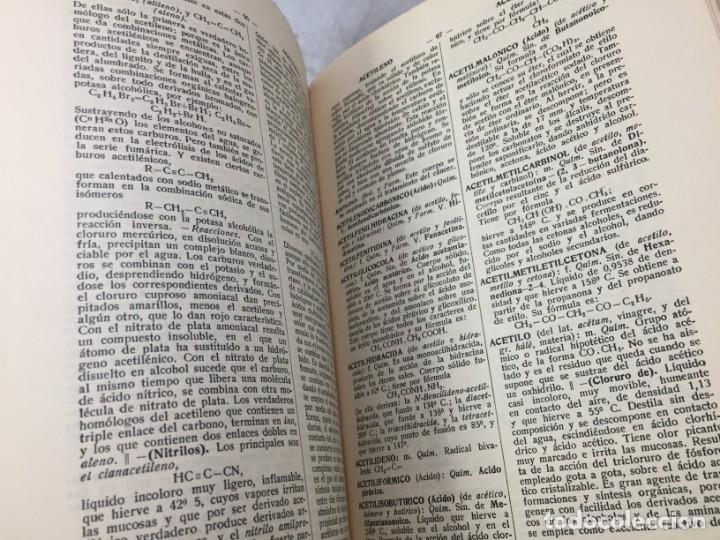 Diccionarios antiguos: Diccionario Tecnológico Hispano-Americano 1926 tomo I A-Acteonela Pelayo Vizuete arte y ciencia - Foto 8 - 192951300