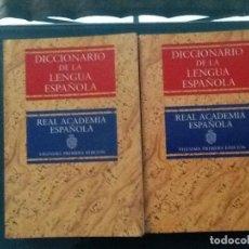 Diccionarios antiguos: DICCIONARIO DE LA LENGUA ESPAÑOLA, REAL ACADEMIA ESPAÑOLA. 21º EDICIÓN. 2 TOMOS. Lote 193054862