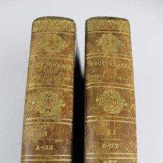 Diccionarios antiguos: L-4058. DICCIONARIO LENGUA CASTELLANA CON CORRESPONDENCIAS CATALANA Y LATINA,P.CABERNIA. 2 T.1844.. Lote 193221858