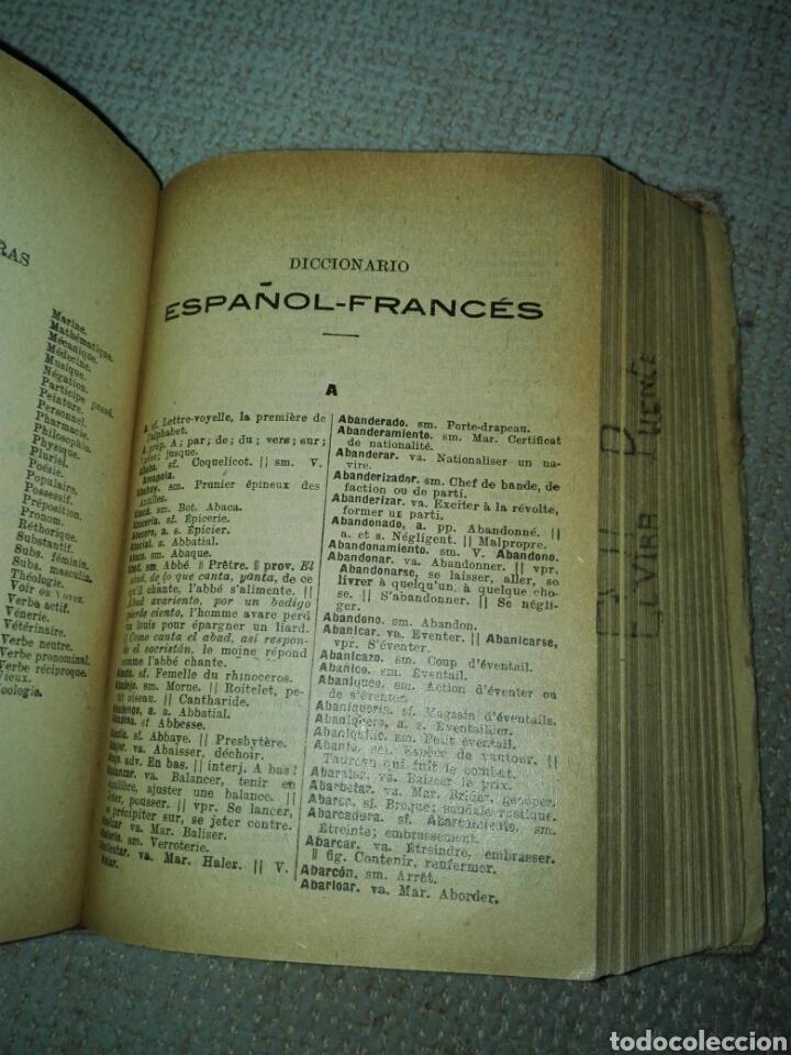 Diccionarios antiguos: Diccionario español francés. ALCALÁ - ZAMORA, Pedro de y ANTIGNAC, Theophile. 1936 - Foto 4 - 193394500