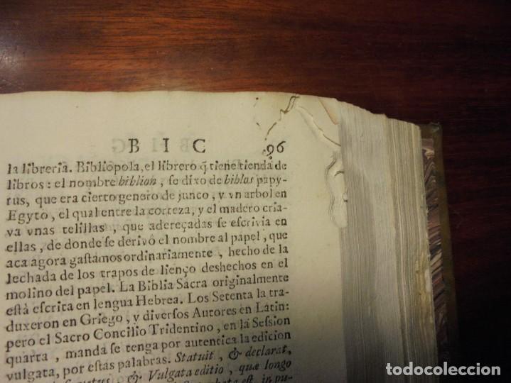 Diccionarios antiguos: ALDRETE: ORIGEN DE LA LENGUA CASTELLANA. COVARRUBIAS: TESORO DE LA LENGUA CASTELLANA. 1674 - Foto 7 - 194000830