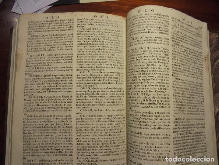 Diccionarios antiguos: ALDRETE: ORIGEN DE LA LENGUA CASTELLANA. COVARRUBIAS: TESORO DE LA LENGUA CASTELLANA. 1674 - Foto 8 - 194000830