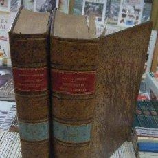 Diccionarios antiguos: DICCIONARIO GENERAL DE ORTOGRAFÍA, HOMOLOGÍA Y RÉGIMEN DE LA LENGUA ESPAÑOLA. 2 TOMOS A-LING-205. Lote 194396272
