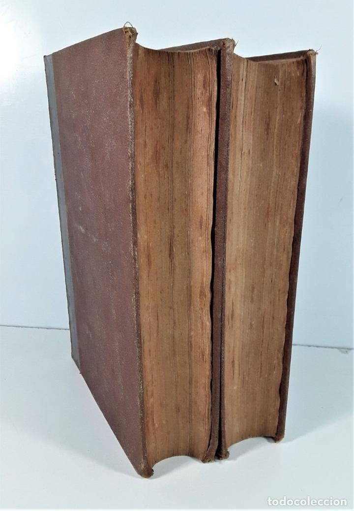 Diccionarios antiguos: DICCIONARI CATALÁ-CASTELLÁ-LLATÍ-FRANCES-ITALIÁ. 2 TOMOS. IMP. J. TORNER. 1839. - Foto 10 - 172295137