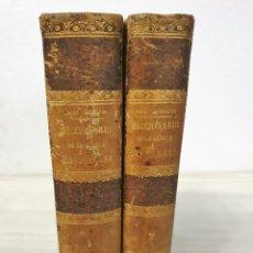 Diccionarios antiguos: DICCIONARIO DE LA LENGUA CASTELLANA (2 TOMOS) - D. E. MARTY CABALLERO 1864 Y 1865. Lote 194648111