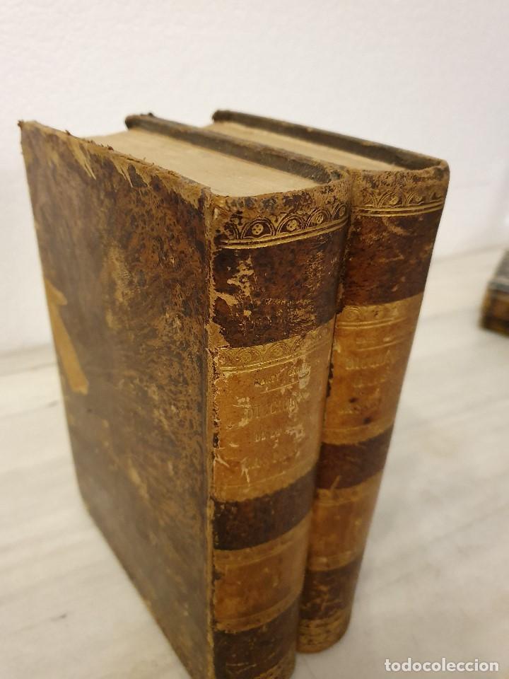 Diccionarios antiguos: DICCIONARIO DE LA LENGUA CASTELLANA (2 TOMOS) - D. E. MARTY CABALLERO 1864 y 1865 - Foto 2 - 194648111