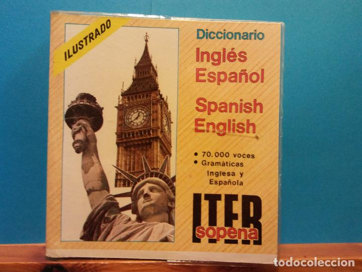 DICCIONARIO INGLÉS ESPAÑOL. SPANISH ENGLISH. ITER SOPENA. EDITORIAL RAMON SOPENA (Libros Antiguos, Raros y Curiosos - Diccionarios)