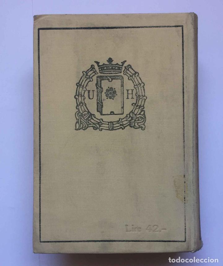 Diccionarios antiguos: RONCHETTI: Dizionario Illustrato dei Simboli (Milán, Hoepli, 1922) 1ª ed. ¡ORIGINAL! Coleccionista - Foto 2 - 194725223