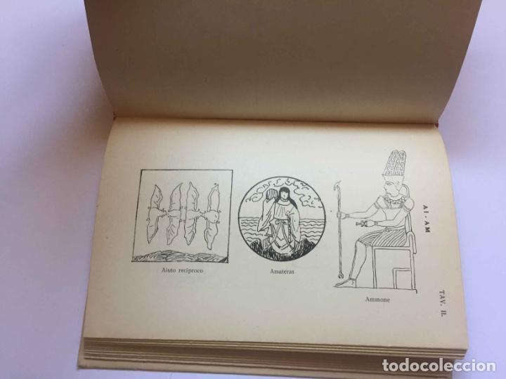 Diccionarios antiguos: RONCHETTI: Dizionario Illustrato dei Simboli (Milán, Hoepli, 1922) 1ª ed. ¡ORIGINAL! Coleccionista - Foto 7 - 194725223