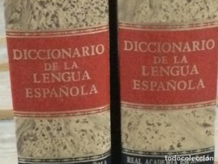 Diccionarios antiguos: DICCIONARIO DE LA REAL ACADEMIA ESPAÑOLA VIGESIMA EDICIÓN 1984. - Foto 3 - 194988468