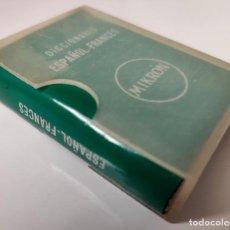 Diccionarios antiguos: DICCIONARIO MIKRÓN ESPAÑOL-FRANCÉS EN MINIATURA - EDITORIAL MAYFE, 1965. Lote 194996710