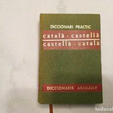 Diccionarios antiguos: DICCIONARIO CATALA CASTELLA DE ARIMANY AÑO 1968. Lote 195033527