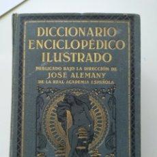 Diccionarios antiguos: DICCIONARIO ENCICLOPÉDICO JOSÉ ALEMANY. Lote 195098430
