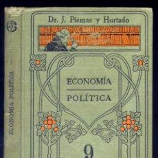 Diccionarios antiguos: PIERNAS, JOSÉ M. VOCABULARIO DE LA ECONOMÍA. EXPOSICIÓN DE LA... S.A. (1915), MANUALES SOLER, IX.. Lote 195172058