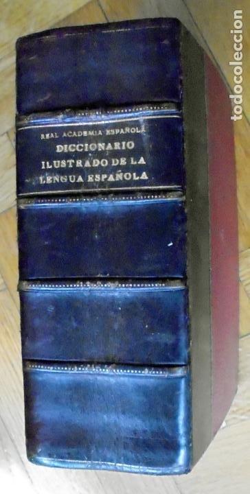 DICCIONARIO MANUAL E ILUSTRADO DE LA LENGUA ESPAÑOLA. 1927 (Libros Antiguos, Raros y Curiosos - Diccionarios)