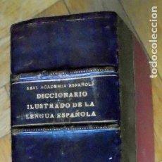 Diccionarios antiguos: DICCIONARIO MANUAL E ILUSTRADO DE LA LENGUA ESPAÑOLA. 1927 . Lote 195207910