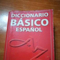 Diccionarios antiguos: DICCIONARIO BASICO ESPAÑOL SUSAETA ISBN 84-305-9895-2 DEL AÑO 2001 ESPAÑA 7,5X10X2. Lote 195259281