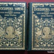 Diccionarios antiguos: NUEVO DICCIONARIO ILUSTRADO DE LA LENGUA ESPAÑOLA - SOPENA - 1929. Lote 195275330