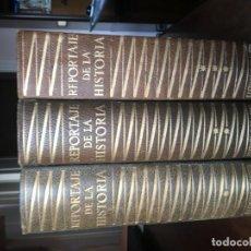 Diccionarios antiguos: REPORTAJES DE LA HISTORIA, EDIT. PLANETA, 3 VOLUM.. Lote 195319738