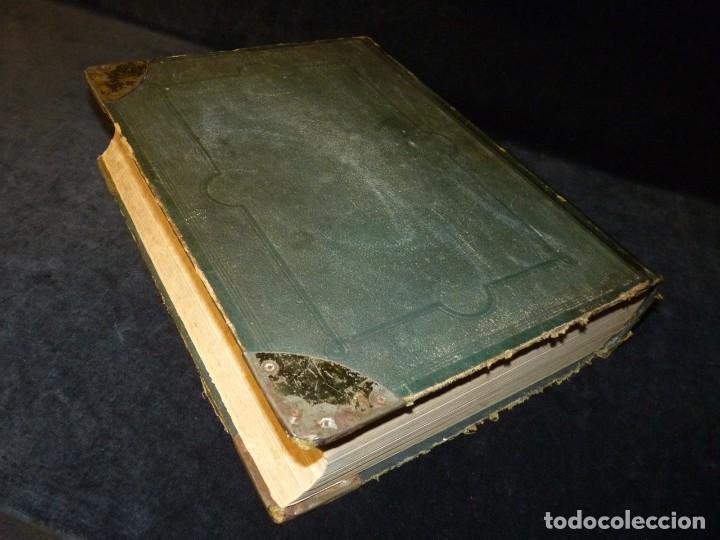 Diccionarios antiguos: NUEVO DICCIONARIO DE LA LENGUA CASTELLANA CON UN SUPLEMETO. LIBRERIA DE CH. BOURET, 1885. 32,5x25,5 - Foto 4 - 195354293