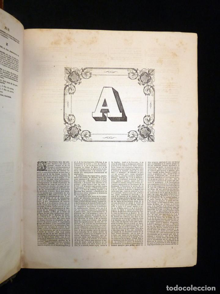 Diccionarios antiguos: NUEVO DICCIONARIO DE LA LENGUA CASTELLANA CON UN SUPLEMETO. LIBRERIA DE CH. BOURET, 1885. 32,5x25,5 - Foto 12 - 195354293