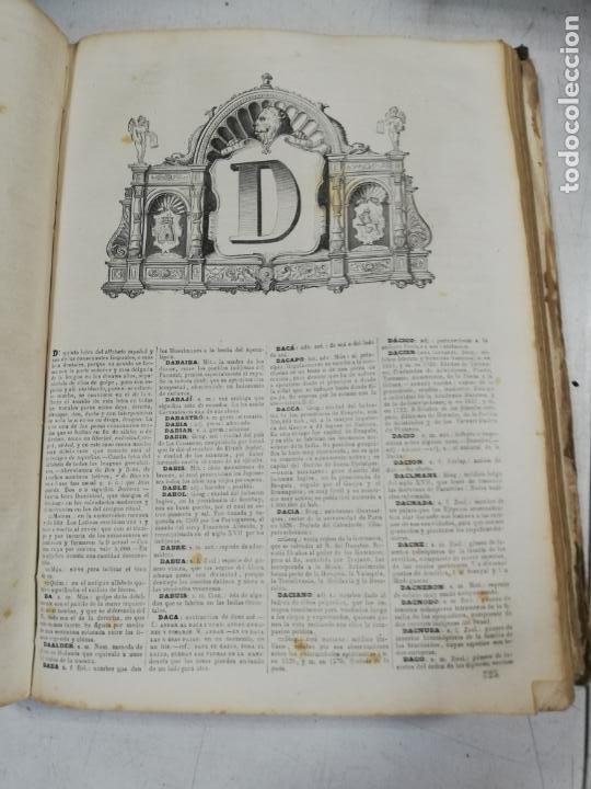 Diccionarios antiguos: DICCIONARIO ENCICLOPEDICO DE LA LENGUA ESPAÑOLA. DOS TOMOS. GASPAR Y ROIG, EDITORES. 1870. - Foto 9 - 195377377