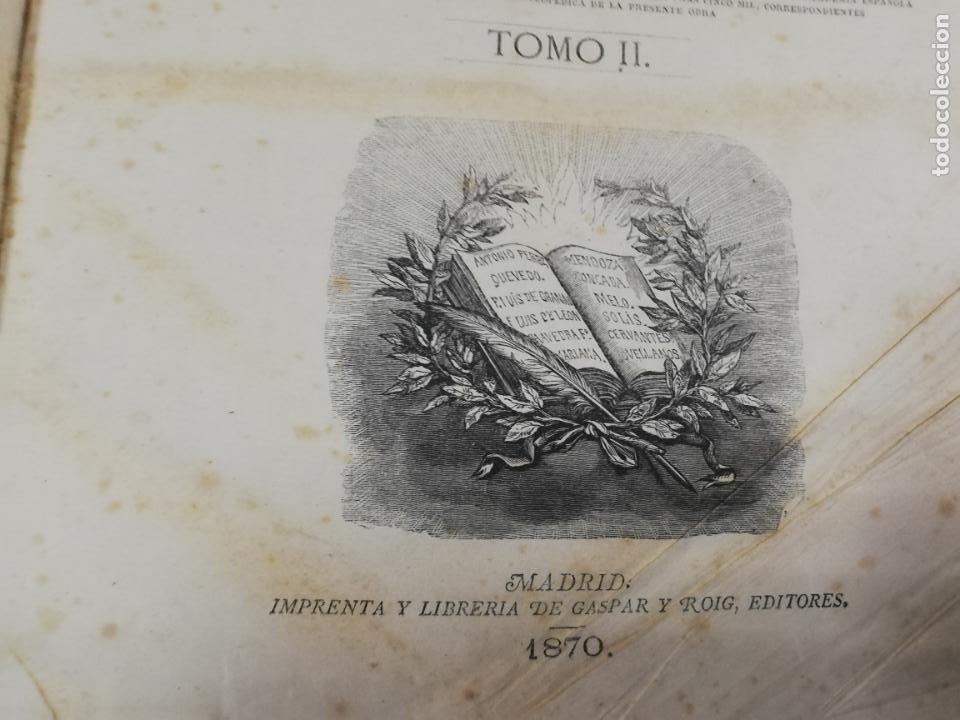 Diccionarios antiguos: DICCIONARIO ENCICLOPEDICO DE LA LENGUA ESPAÑOLA. DOS TOMOS. GASPAR Y ROIG, EDITORES. 1870. - Foto 20 - 195377377