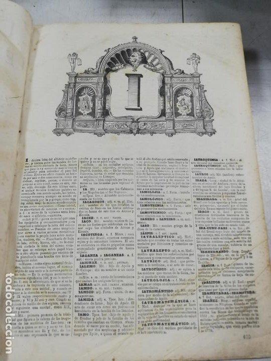 Diccionarios antiguos: DICCIONARIO ENCICLOPEDICO DE LA LENGUA ESPAÑOLA. DOS TOMOS. GASPAR Y ROIG, EDITORES. 1870. - Foto 22 - 195377377