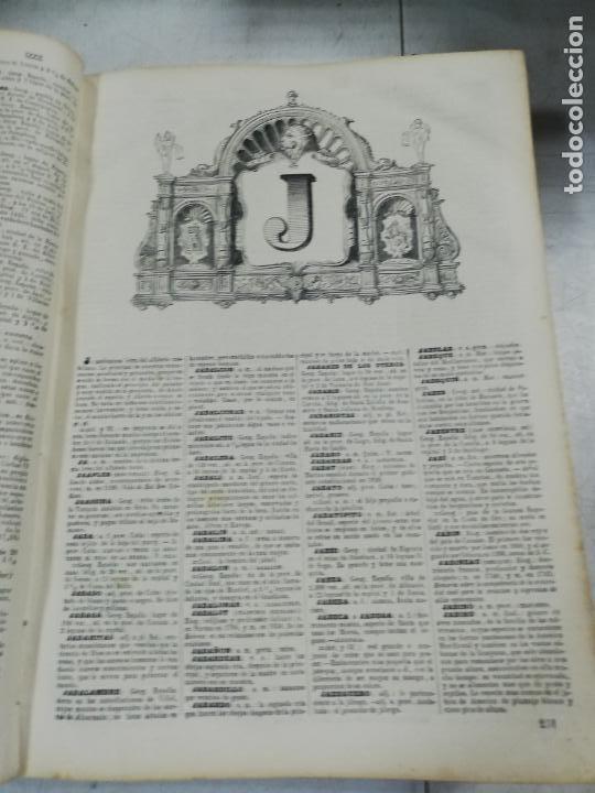 Diccionarios antiguos: DICCIONARIO ENCICLOPEDICO DE LA LENGUA ESPAÑOLA. DOS TOMOS. GASPAR Y ROIG, EDITORES. 1870. - Foto 23 - 195377377