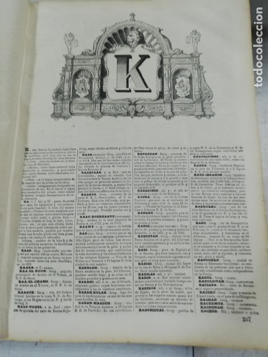 Diccionarios antiguos: DICCIONARIO ENCICLOPEDICO DE LA LENGUA ESPAÑOLA. DOS TOMOS. GASPAR Y ROIG, EDITORES. 1870. - Foto 24 - 195377377