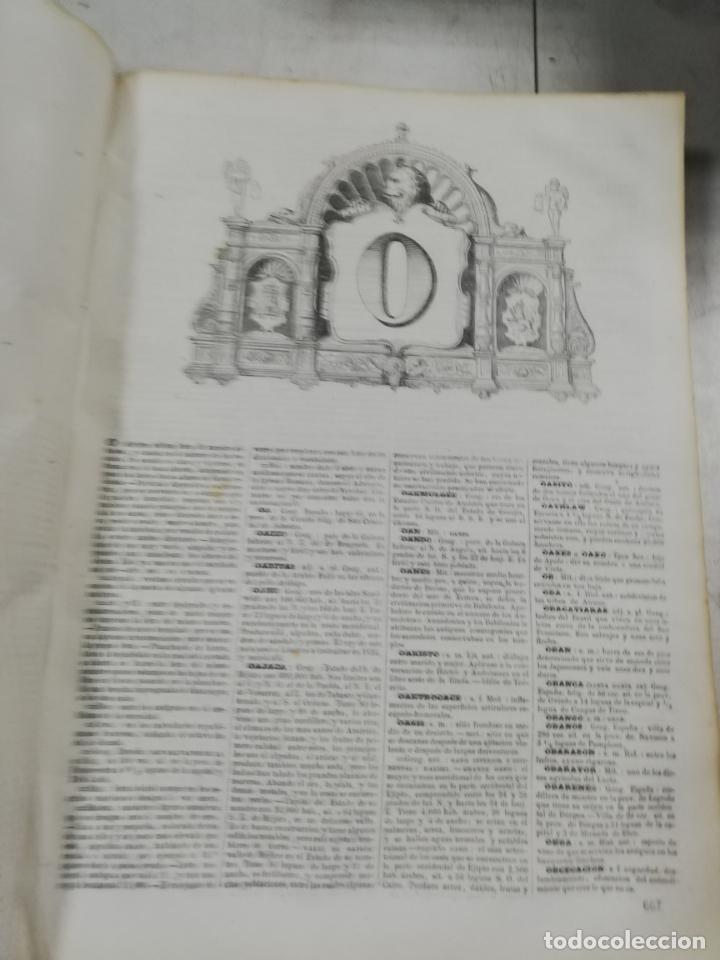 Diccionarios antiguos: DICCIONARIO ENCICLOPEDICO DE LA LENGUA ESPAÑOLA. DOS TOMOS. GASPAR Y ROIG, EDITORES. 1870. - Foto 30 - 195377377