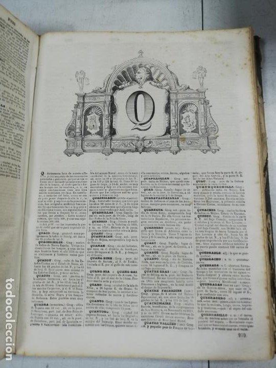 Diccionarios antiguos: DICCIONARIO ENCICLOPEDICO DE LA LENGUA ESPAÑOLA. DOS TOMOS. GASPAR Y ROIG, EDITORES. 1870. - Foto 32 - 195377377