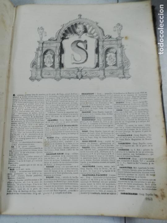 Diccionarios antiguos: DICCIONARIO ENCICLOPEDICO DE LA LENGUA ESPAÑOLA. DOS TOMOS. GASPAR Y ROIG, EDITORES. 1870. - Foto 34 - 195377377