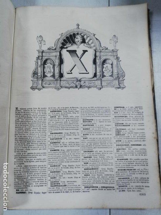 Diccionarios antiguos: DICCIONARIO ENCICLOPEDICO DE LA LENGUA ESPAÑOLA. DOS TOMOS. GASPAR Y ROIG, EDITORES. 1870. - Foto 38 - 195377377