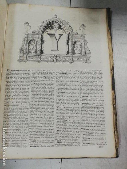 Diccionarios antiguos: DICCIONARIO ENCICLOPEDICO DE LA LENGUA ESPAÑOLA. DOS TOMOS. GASPAR Y ROIG, EDITORES. 1870. - Foto 39 - 195377377