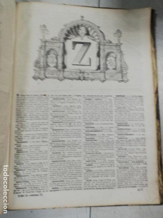 Diccionarios antiguos: DICCIONARIO ENCICLOPEDICO DE LA LENGUA ESPAÑOLA. DOS TOMOS. GASPAR Y ROIG, EDITORES. 1870. - Foto 40 - 195377377