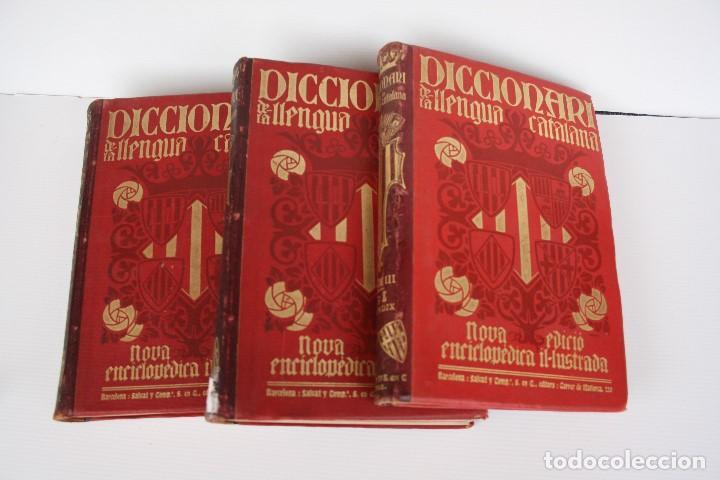Diccionarios antiguos: DICCIONARI DE LA LLENGUA CATALANA. - Foto 9 - 195500676
