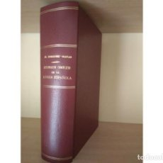 Diccionarios antiguos: DICCIONARIO DE LA LENGUA ESPAÑOLA, RODRIGUEZ NAVAS (AÑO 1907 EDITA SATURNINO CALLEJA). Lote 195687552