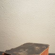Diccionarios antiguos: LIBRO / CALEPINO DE SALAS COMPENDIUM LATINO HISPANUM PETRI DE SALAS, AÑO 1782. SIGLO XVIII. Lote 196009365
