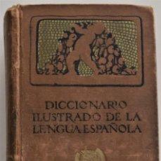 Diccionarios antiguos: DICCIONARIO ILUSTRADO DE LA LENGUA ESPAÑOLA - EDICIÓN DE LUJO - EDITORIAL SATURNINO CALLEJA AÑO 1914. Lote 196538800