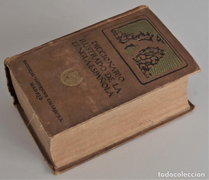 Diccionarios antiguos: DICCIONARIO ILUSTRADO DE LA LENGUA ESPAÑOLA - EDICIÓN DE LUJO - EDITORIAL SATURNINO CALLEJA AÑO 1914 - Foto 3 - 196538800