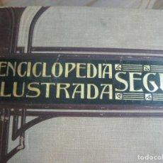 Diccionarios antiguos: AÑO 1905 GRAN DICCIONARIO FRANCES ESPAÑOL. SUPLEMENTO ENCICLOPEDIA ILUSTRADA SEGUI, BARCELONA. Lote 196669993