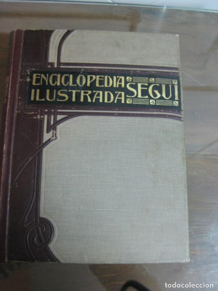 Diccionarios antiguos: Año 1905 GRAN DICCIONARIO FRANCES ESPAÑOL. SUPLEMENTO ENCICLOPEDIA ILUSTRADA SEGUI, BARCELONA - Foto 2 - 196669993