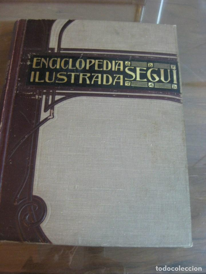 Diccionarios antiguos: Año 1905 GRAN DICCIONARIO FRANCES ESPAÑOL. SUPLEMENTO ENCICLOPEDIA ILUSTRADA SEGUI, BARCELONA - Foto 3 - 196669993